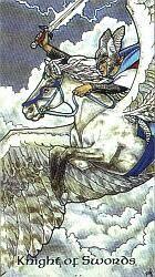 Robin Wood: Knight of Swords | Tarot on the Ragged Edge